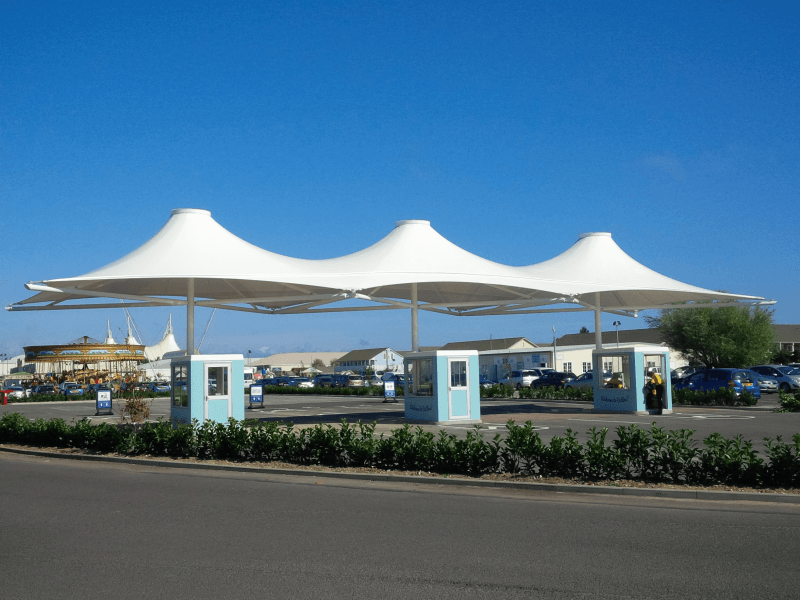 & Butlins - Entrance Canopies | J u0026 J Carter