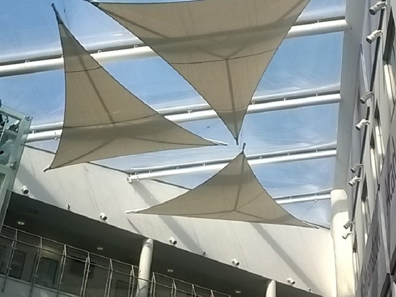 Tensile Architecture Interior Tensile Fabric Sails