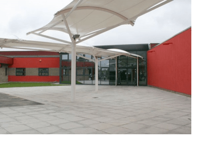 Oxclose Community School - entrance canopy
