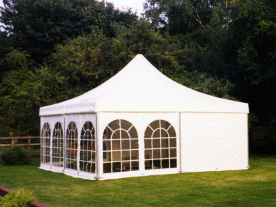 white Pagoda Marquee