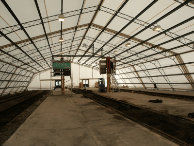 Top Advantages of a Fabric Industrial Structure over Traditional Buildings