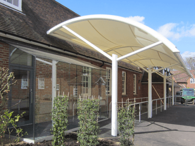 Lord Wandsworth College | Fabric Canopy