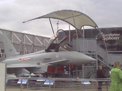 Farnborough Airshow for Eurofighter