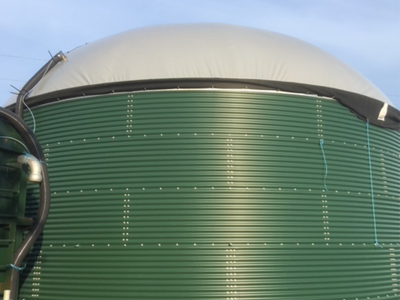 Biogas Storage System at Windover Farm