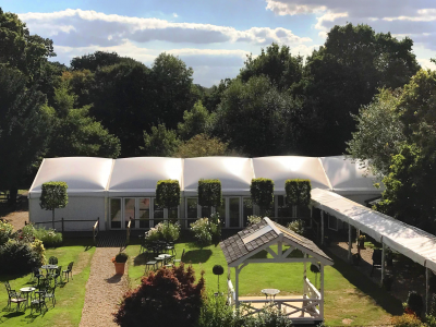 Bespoke marquee structures, Hampshire