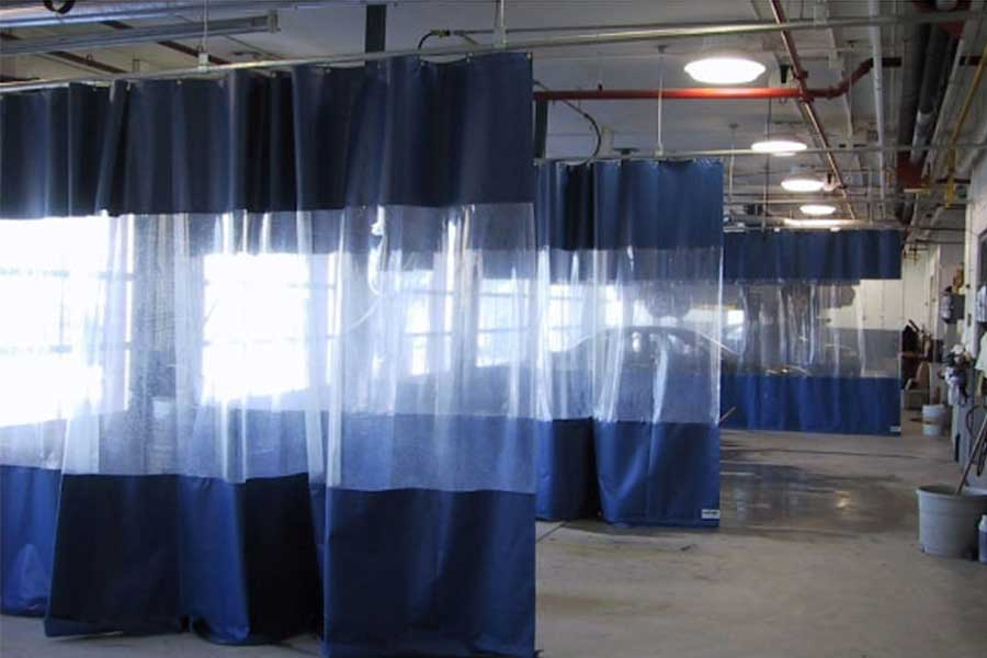 Back to Work Solutions - Clear Screen Dividers and Work Place Partition Systems